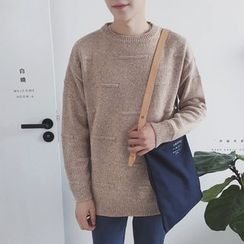 Chuoku - Loose-fit Knit Top