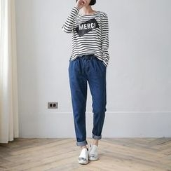 OrangeBear - Straight-Leg Jeans