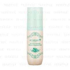 Skinfood - White Grape Fresh Foundation (#23 Natural Beige)