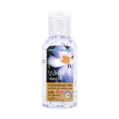 Nature Republic - Hand And Nature Sanitizer Gel (Ethanol) - White Musk 30ml