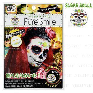Sun Smile - Pure Smile Nightmare Art Mask (Sugar Skull)