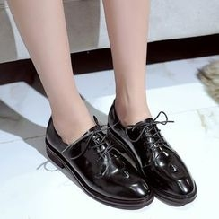 JY Shoes - Chunky Heel Oxfords