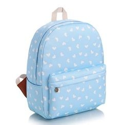 YUNA - Heart Canvas Backpack
