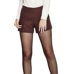 O.SA - Wool Blend Shorts