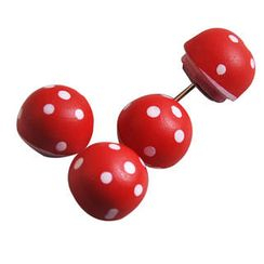 ioishop - Set of 5: Mushroom Pin