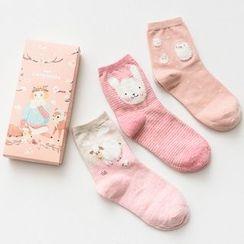Socka - Pair of 3: Animal-Print Socks