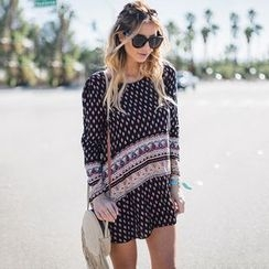 Hotprint - Patterned Long-Sleeve Tunic