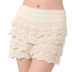 ONO - Tiered Crochet Undershorts