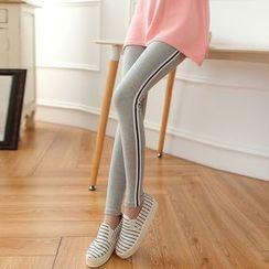 DORRIE - Striped Leggings