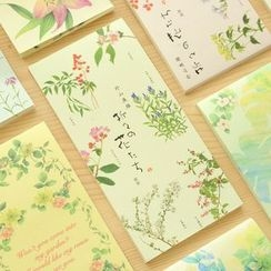 Show Home - Floral Print Notepad