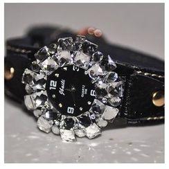 Nanazi Jewelry - Rhinestone Strap Watch