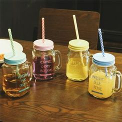 InShop Watches - Lettering Cup With Straw
