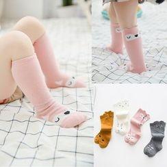 MOM Kiss - Baby Print Socks
