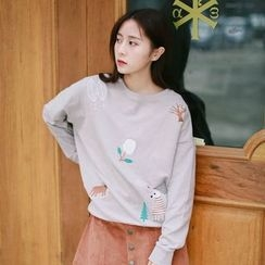 Onyu - Embroidered Pullover