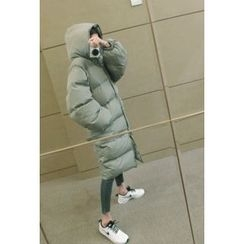 ATTYSTORY - Hooded Duck-Down Padded Coat