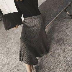 QZ Lady - Knit Maxi Skirt