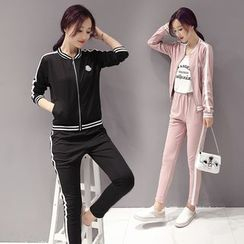 Romantica - Sport Set: Zip Jacket + Pants