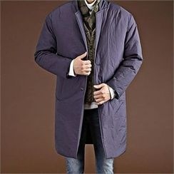 THE COVER - Notched-Lapel Padded Coat