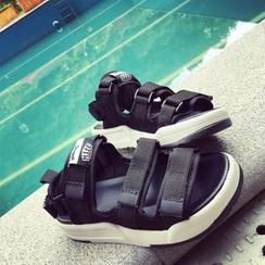 Yoflap - Velcro Platform Sandals