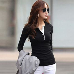 Fancy Show - Long-Sleeve Henley