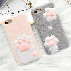 Milk Maid - Paw Accent iPhone 6 / 6 Plus / 7 / 7 Plus Case