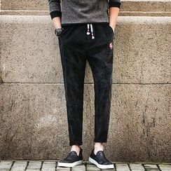 T for TOP - Drawstring-Waist Pants