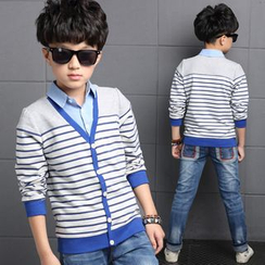 Pegasus - Kids Mock Two Piece Shirt