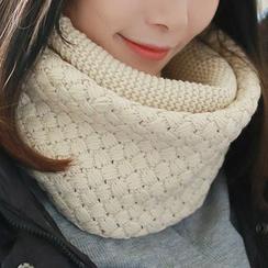 Amandier - Plain Knit Neck Warmer