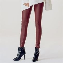 MAGJAY - Faux-Leather Skinny Pants
