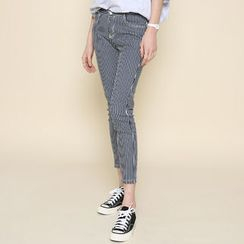 Envy Look - Striped Skinny Pants