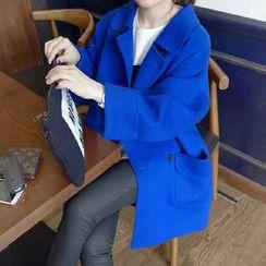 Romantica - Loose-Fit Buttoned Coat