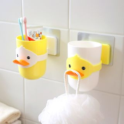Lazy Corner - Duck-Accent Sticky Tooth Cup