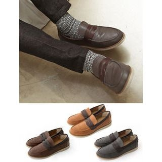 MUTNAM - Two-Tone Loafers