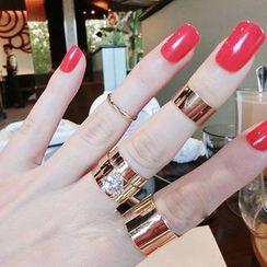 Bling Thing - Set of 4: Rings