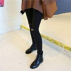 QNIGIRLS - Distressed Skinny Pants