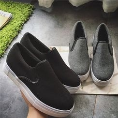 Hipsole - Faux-Leather Slip-Ons