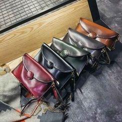 Rosanna Bags - Chain Strap Envelope Crossbody Bag