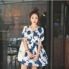 Maymaylu Dreams - Printed Dress