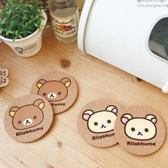 iswas - Set of 2: 'Rilakkuma' Series Coaster