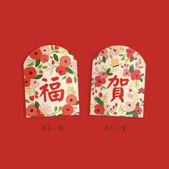 Carta - Floral Print Red Packet
