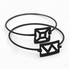 Zentangal - Geometric Bangle