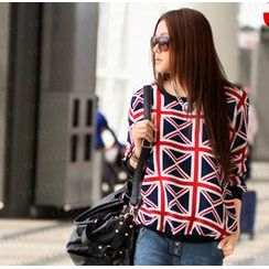 SO Central - Union Jack Print Sweater