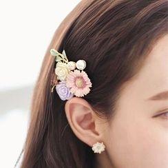 Avery - Flower Hair Clip