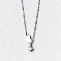 A'ROCH - 925 Sterling Silver Heart Pendant Necklace