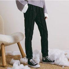 Woodie - Pinstripe Harem Pants