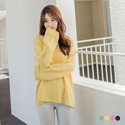 OrangeBear - Stripe Knit Sweater