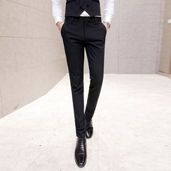 Besto - Flat Front Dress Pants
