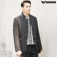 DANGOON - Quilted Wool Blend Blazer