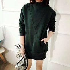 Tulander - Mock-neck Sweat Dress