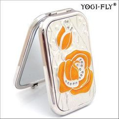 Yogi-Fly - Beauty Compact Mirror (XK005P) (Yellow)